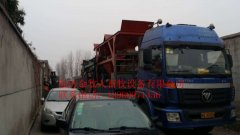 2016-1-4日发往陕西城固的水泥漏缝板设备